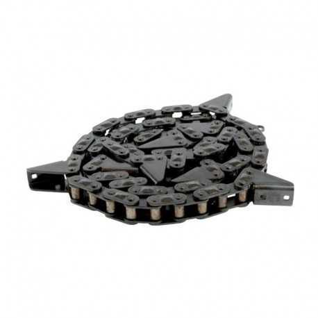 Цепь роликовая транспортерная CA2801/TM90E/J5A (78 звеньев)