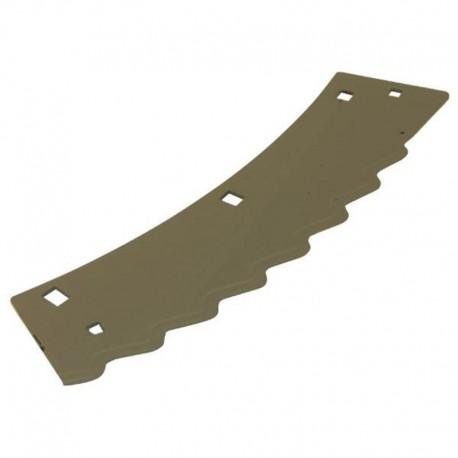 Нож измельчителя комбайна Claas Jaguar - левый, 368х122х3мм