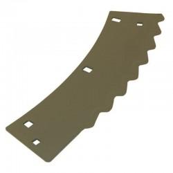 Нож измельчителя комбайна Claas Jaguar - правый, 368х122х3мм