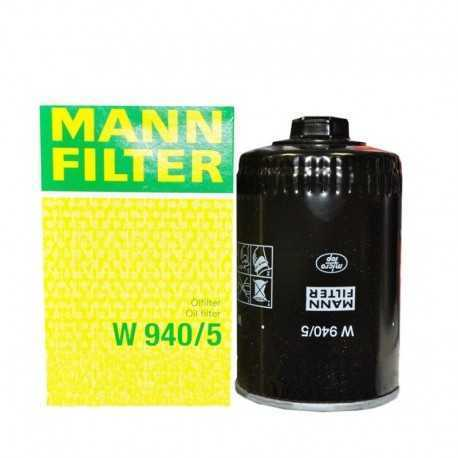 Фильтр масляный W940/5 [Mann-Filter]