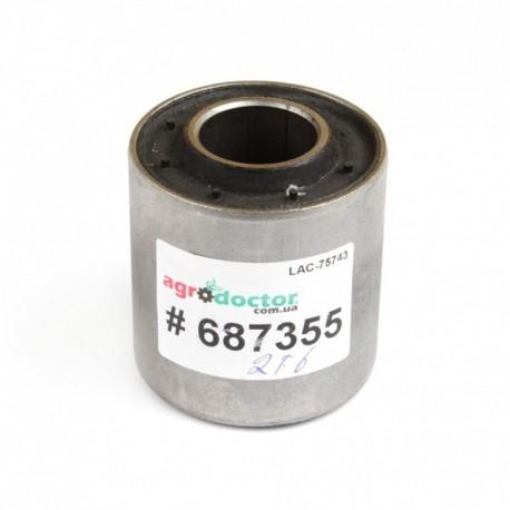 Сайлентблок ( вкладыш MEGU ) 25х55мм грохота комбайна Claas - усиленный