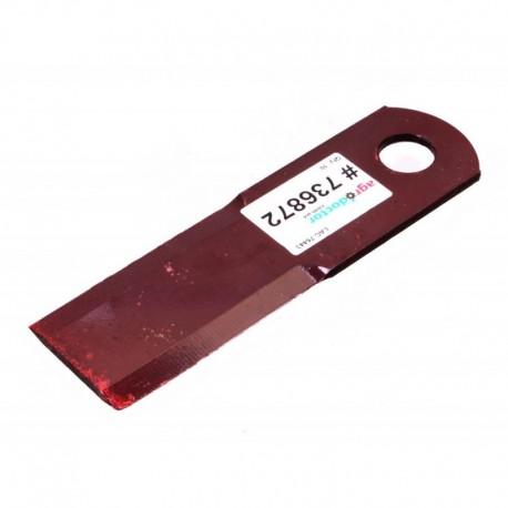 Подвижный нож измельчителя комбайна Claas - 173х52х4мм [Rasspe]