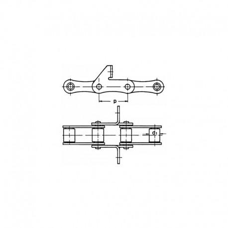Цепь роликовая транспортерная S51/SD/J2A