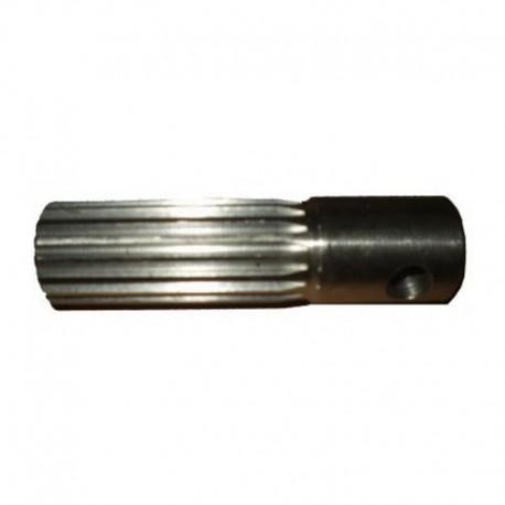 Вал шлицевой 128мм, f-18 (18 шлицов)