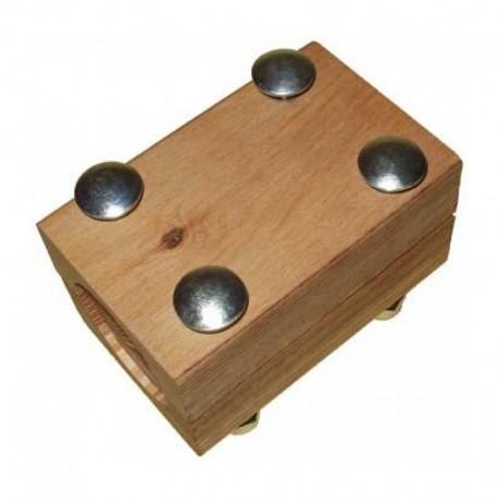 Деревянный подшипник 618083 соломотряса комбайна Claas - 61х80х115мм
