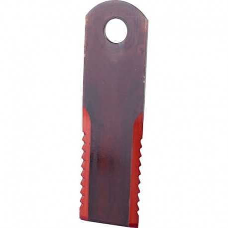 Нож измельчителя 065294.1 комбайна Claas - подвижный, 173х50х3мм [Rasspe]