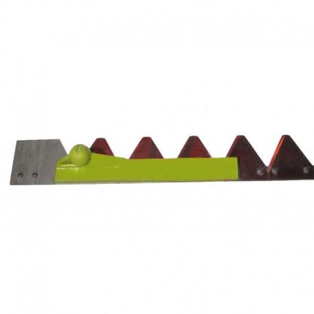 Коса жатки комбайна Claas в сборе 2,6м (35,5 сегментов 611203)