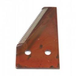 Сегмент ножа жатки комбайна Claas - конечный [Rasspe]