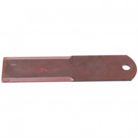 Нож измельчителя 060030.0 комбайна Claas - неподвижный, 195х50х3мм [Rasspe]