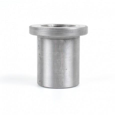 Втулка с буртиком от жатки комбайна Claas - 16х22х30мм