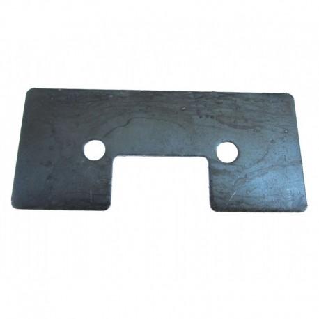 Металлическая подкладка скребка транспортера комбайна John Deere