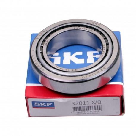 Подшипник роликовый конический 2007111 (32011 XQ) [SKF]