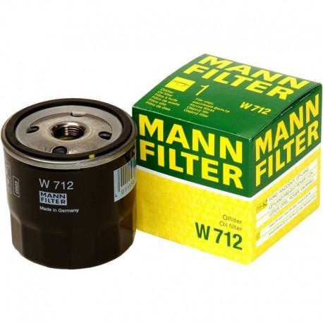 Фильтр масляный W712 [Mann-Filter]