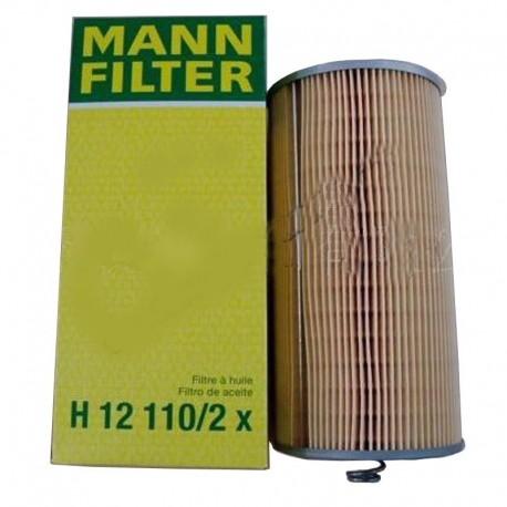 Фильтр масляный H12 110/2x [Mann-Filter]