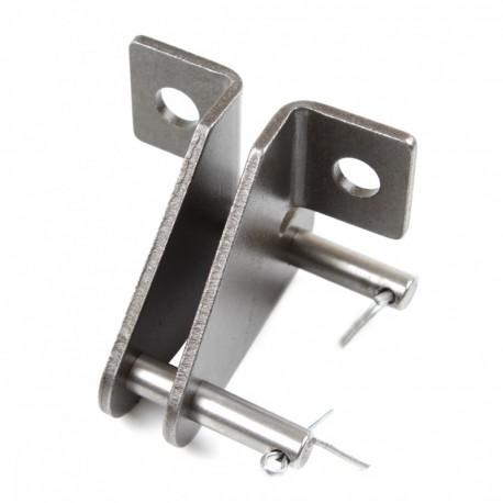 Соединительное звено транспортерной цепи 38,4 (6,9 с лапкой SD)