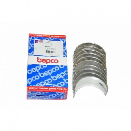 Комплект коренных вкладыший двигателя Perkins, 2-11A [Bepco]