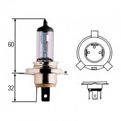 Лампа 12V 60/55W-H4-P43T [Hella]