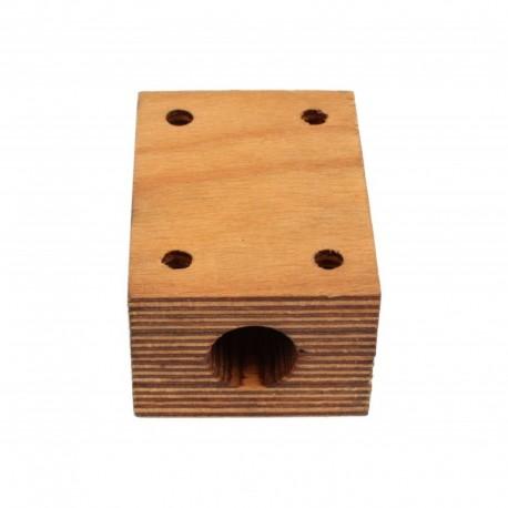 Деревянный подшипник соломотряса комбайна Massey Ferguson - на вал 25 мм