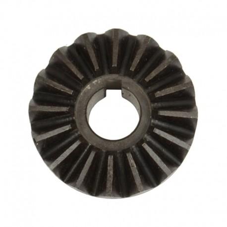 Шестерня коническая (на шпонку) z16 транспортера выгрузки зерна комбайна Claas на 16 зубьев