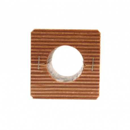 Деревянный подшипник 600048.0 измельчителя комбайна Claas, 60х65х61мм