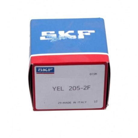 Подшипник шариковый закрепляемый YEL205-2F [SKF]