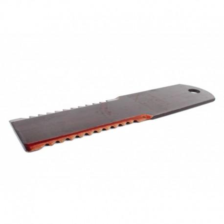Нож измельчителя 060030.0 комбайна Claas - неподвижный (зубчатый) ,193х50х3мм