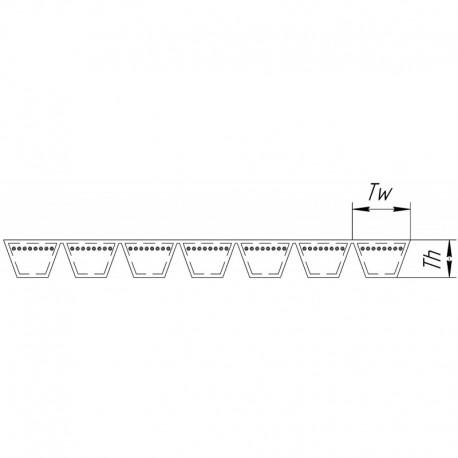 Многоручьевой ремень 1499431 [Gates]