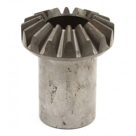Шестерня коническая шлицевая z16 транспортера выгрузки зерна комбайна Claas на 16 зубьев