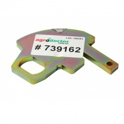 Пластина запорная 739162.1 к агротехнике Claas [Original]