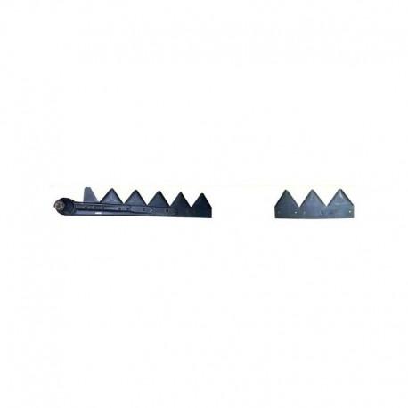 Коса жатки комбайна John Deere 4,8м в сборе - 65,5 сегментов P49650