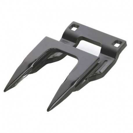 Двойной крайний палец ножа жатки комбайна John Deere - 164мм (тип-Schumacher) [Rasspe]