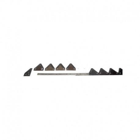 Коса жатки комбайна Claas в сборе 6,0м (81,5 сегмент 676234)