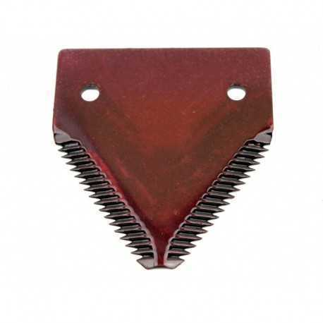 Сегмент ножа жатки комбайна John Deere - 76х83мм