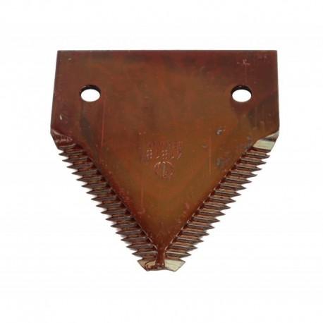 Сегмент ножа жатки комбайна John Deere - 76х83мм [Rasspe]