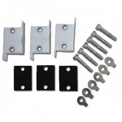 Set of plastic piston cylinder guides