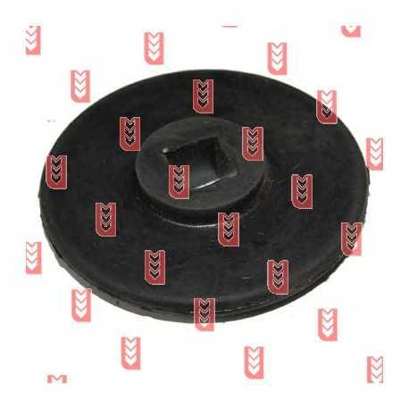 Резиновое колесо сортировочного стола