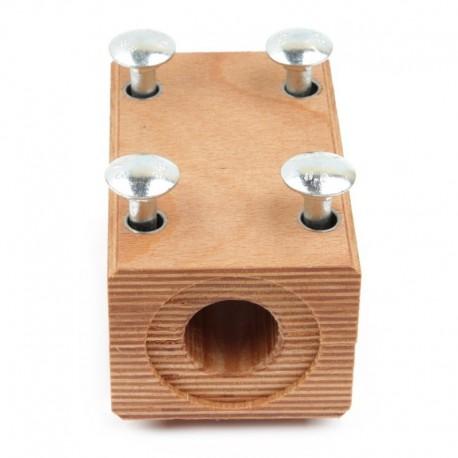 Деревянный подшипник 618186 соломотряса комбайна Claas - 71х80х124мм