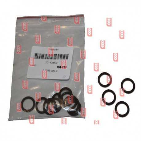 Lower guide rail oil seal 13.95x2.62[SDF]