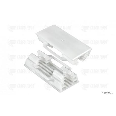 Скользящий пластмасс 25x25[Cargo Floor]