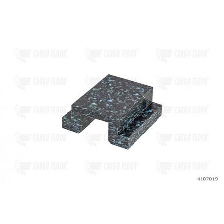 Скользящий пластмас посилений ANTI LIFT[Cargo Floor]