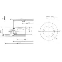 Подшипник 23-0641-00ZZ00[Rollix]