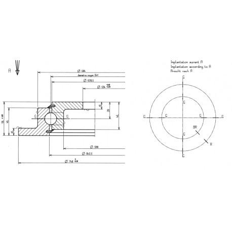 Підшипник 23-0641-00ZZ00[Rollix]