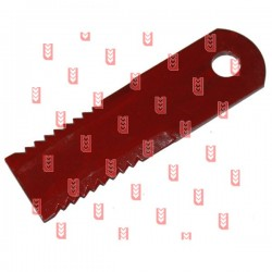 Нож соломорезки 173x50x5mm Fi-18mm[AGV]