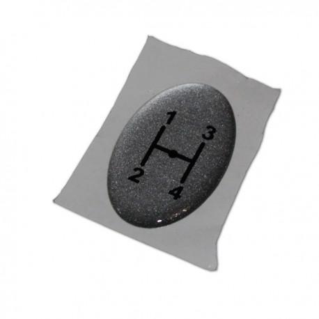 Наклейка на головку перемикання передач[AGCO]