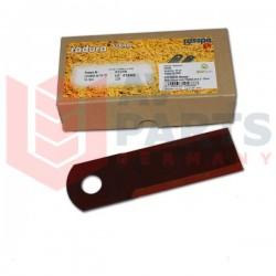 Подвижный нож измельчителя комбайна Claas - 175х50х3.50мм[Rasspe]