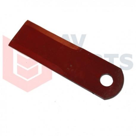 Подвижный нож измельчителя комбайна Claas - 173х50х3мм