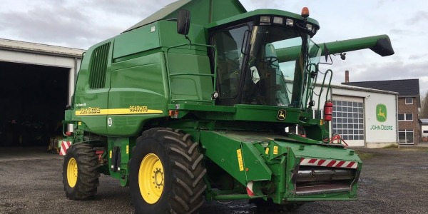 Specifications John Deere 9540 WTS - 9640 WTS - 9680 WTS