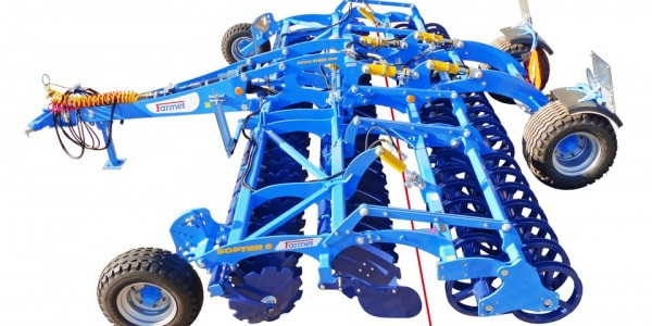 Disc cultivator Farmet Softer 5-6 PS